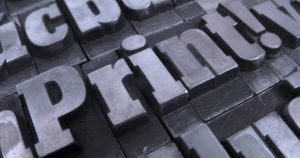 Typography graphic