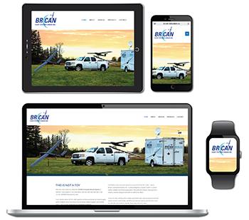 BRICAN Flight Systems Website Design