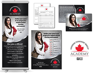 Canadian Permanent Makeup Academy Graphic Design image