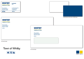 Town of Whitby Branding Graphic Design image