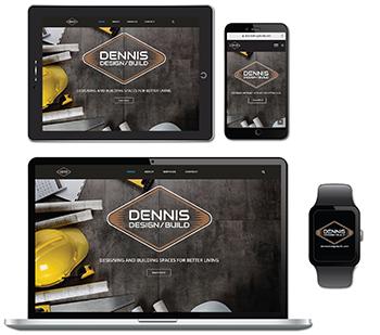 Dennis Design/Build Website Design