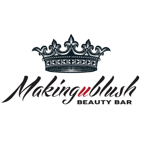 Making u blush beauty bar Company Logo