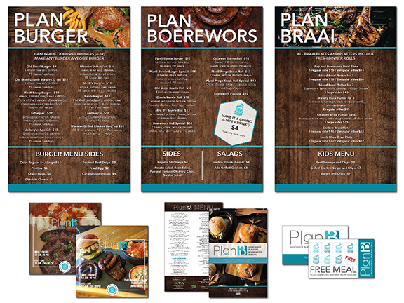 PlanB Handmade Burgers, Boerewors and Braai