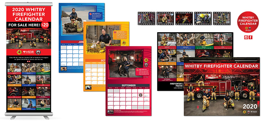 Whitby Fire Fighter Calendar