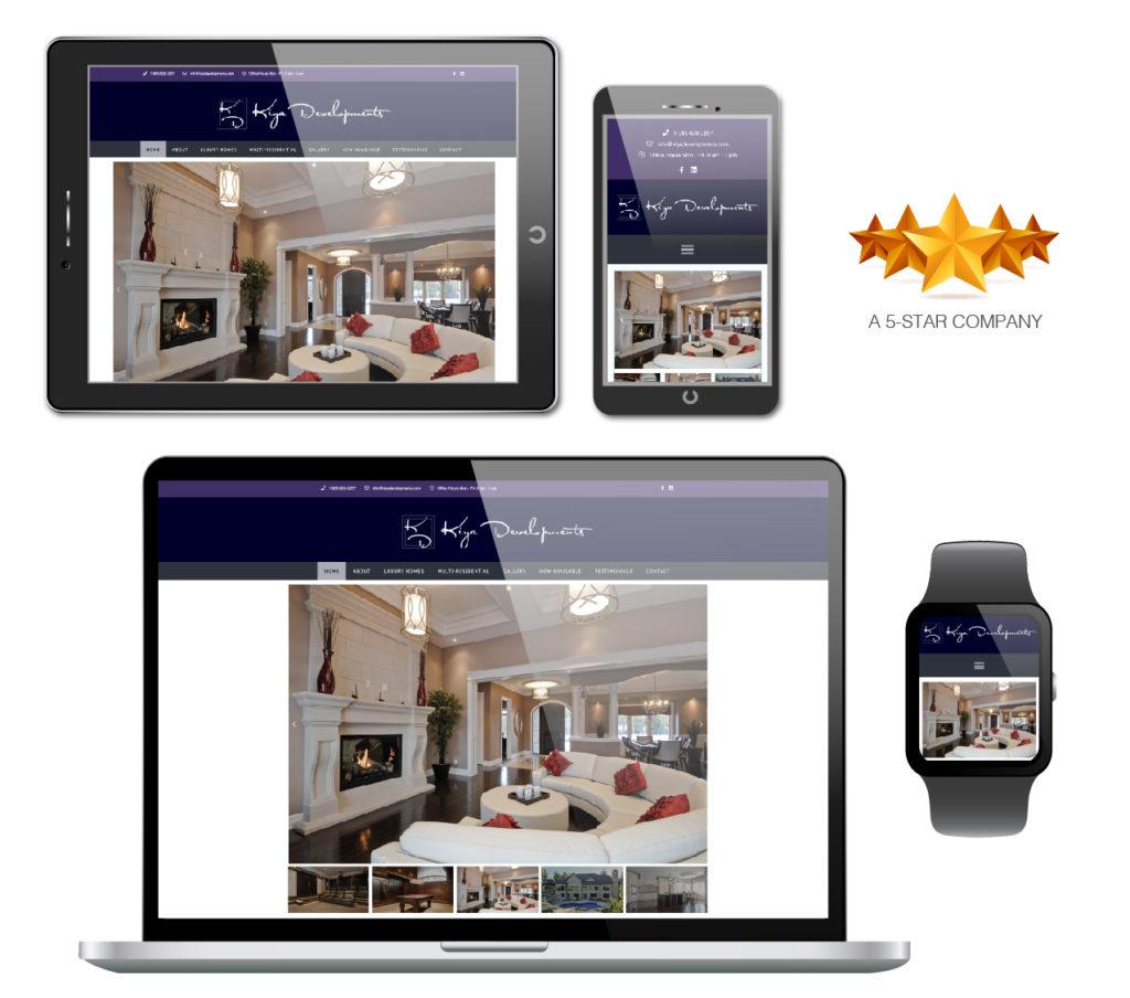 Kiya Development Website
