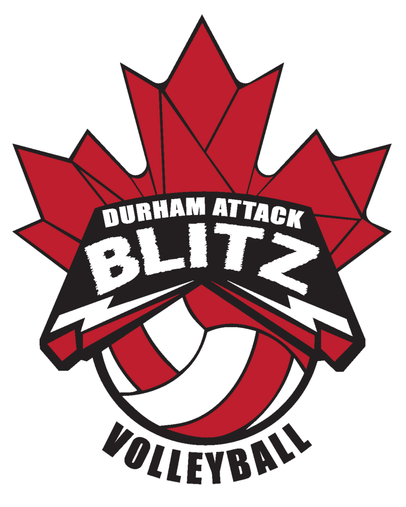 Durham Attack Blitz Volleyball Team logo