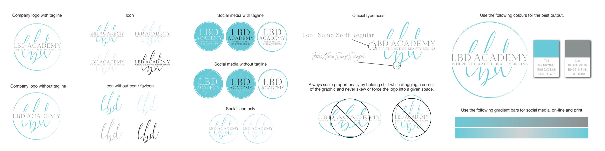 Graphic Design Logo Collateral